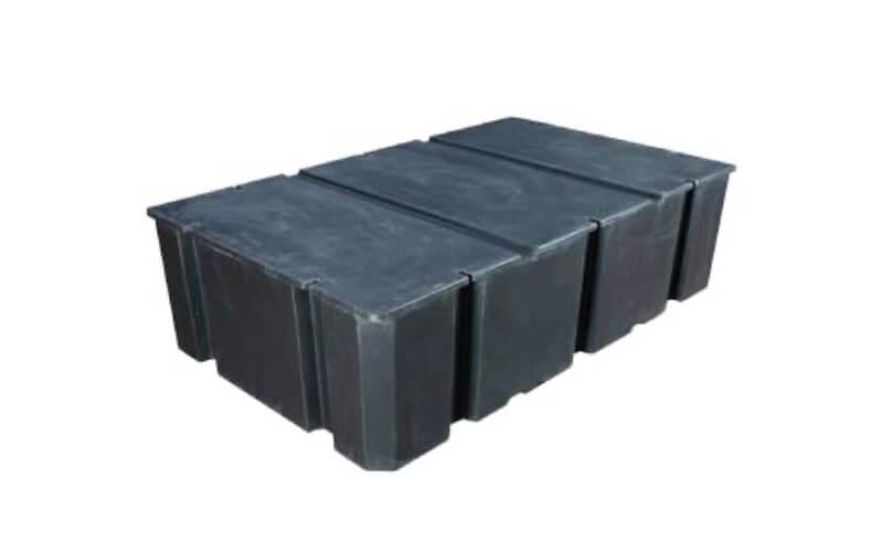 plastikinis pontonas 1000L