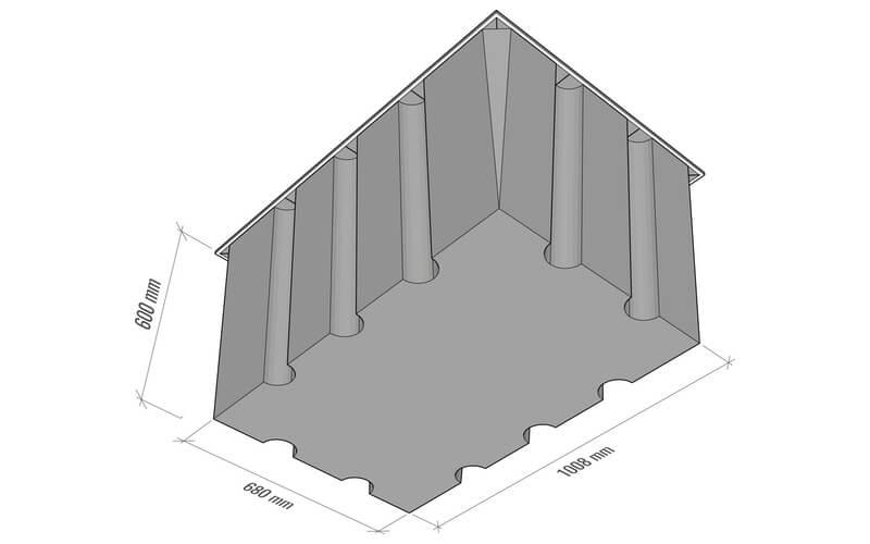 plastikiniu pontonu matmenys 550L