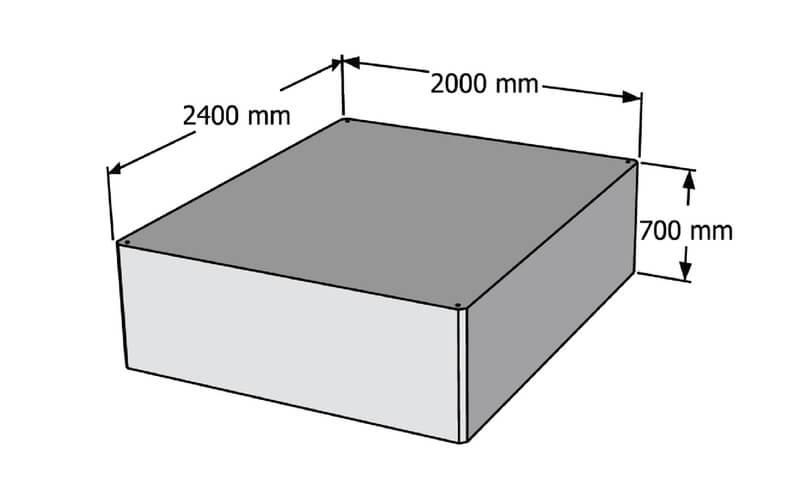 betoniniai pontonai