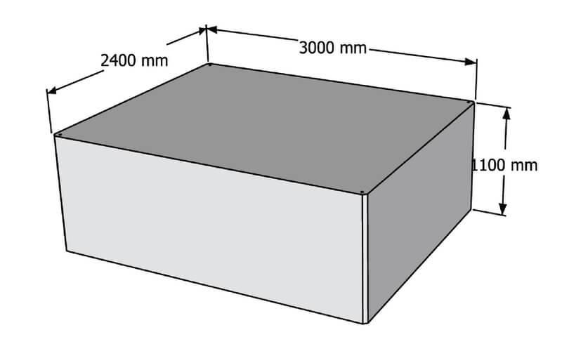 betoninis pontonas