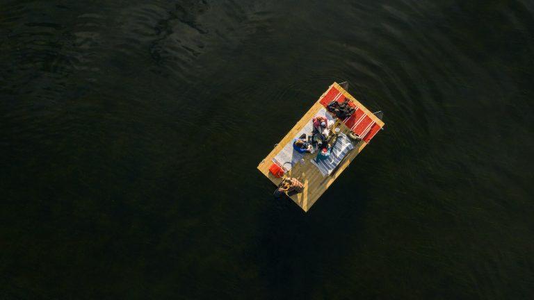 Viskas apie pontonus bei lieptus, plaustus, jų surinkimą, leidimus ir dar daugiau